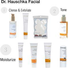 Dr. Hauschka Facial by happyorelse, via Polyvore