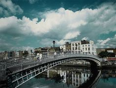Dublin, the capital city of Ireland, was established by Vikings in 988. The name of this city actually is Dubh Linn. It is means Black Pool in Irish.