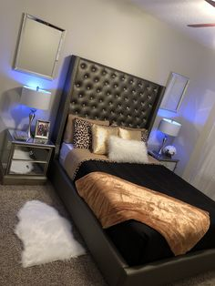 Cute Bedroom Decor, Cute Bedroom Ideas, Teen Room Decor, Stylish Bedroom, Room Ideas Bedroom, Master Bedroom Interior, Room Design Bedroom, Small Room Bedroom, Home Bedroom