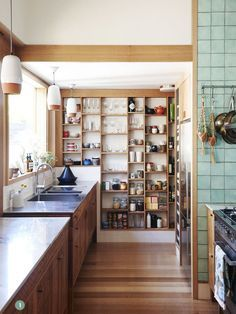 open kitchen pantry - Google Search