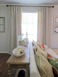 DIY Curtains from Drop Cloths | Live The Home Life