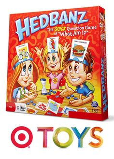 Put on your thinking caps because it's time for Hedbanz, a classic guessing game for kids.