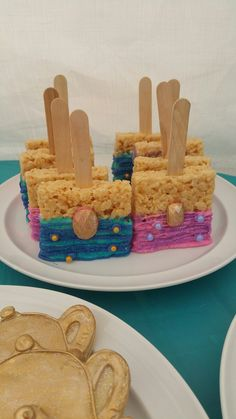 Shimmer and shine rice crispys