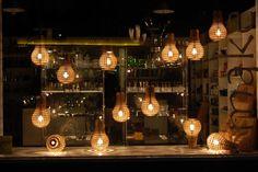 Wooden Bulb Installation » Design You Trust