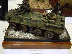 BTR-60 1/35 Scale Model