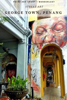 George town, Penang | STREET ART | Known as the street art city of Malaysia, check out what you can see in George town