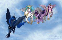 A Princess's Flying Lesson (Finish) by PeichenPhilip.deviantart.com on @deviantART