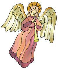 Heralding Angel from https://www.glasspatterns.com/