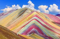 Painted mountains Peru   fun funny funny pics