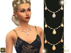 The Sims Resource: Crystal set by Zuckerschnute20 • Sims 4 Downloads