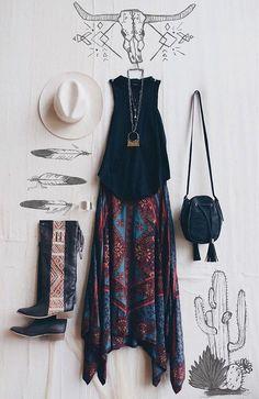 Mejores 8 imágenes de Moda Bohemia en Pinterest  8889681605c