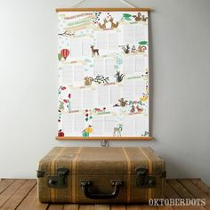 A really sweet, big poster in dutch, never forget another birthday ever again! Kidsroom, Interior, Birthday Calendar, Future House, Dutch, Forget, Posters, Big, Sweet
