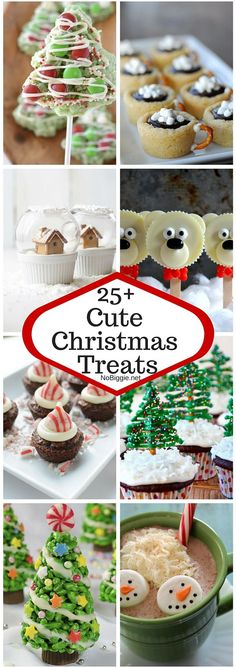 25+ Cute Christmas Treats | NoBiggie.net