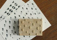 #diy-paper http://blog.2modern.com/2012/10/diy-modern-stamped-wrapping-paper.html#