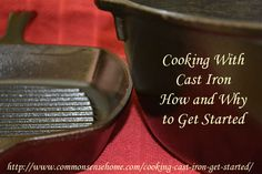 Cooking with Cast Iron. Choosing Your Cast Iron Cookware Pieces. Reasons To Use Cast Iron Over Other Cookware. Care Of Traditional Cast Iron Cookware Cast Iron Care, Cast Iron Pot, Cast Iron Dutch Oven, Cast Iron Skillet, Cast Iron Cookware, It Cast, Skillet Food, Dutch Oven Cooking, Dutch Oven Recipes