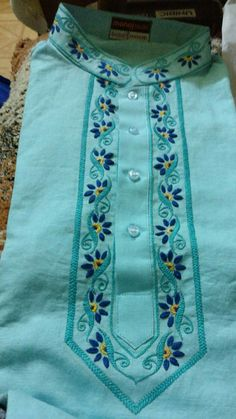 Best 12 Herringbone stitch – Page 587297607637762301 Embroidery Suits Punjabi, Embroidery On Kurtis, Hand Embroidery Dress, Kurti Embroidery Design, Embroidery Neck Designs, Hand Embroidery Stitches, Embroidery Ideas, Dress Neck Designs, Kurti Neck Designs