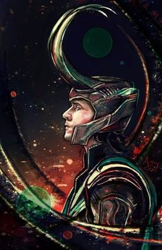 "Tom Hiddleston ""Loki"" ""Thor"" Fan Art From Loki Marvel, Loki Thor, Loki Laufeyson, Marvel Comics, Heros Comics, Tom Hiddleston Loki, Marvel Art, Marvel Heroes, Loki Wallpaper"