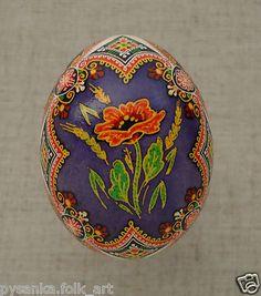 "Ukraine Pysanka by Oleh K Chicken Easter Egg Weight 2 2"" in Pysanky | eBay"