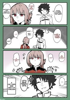 Post with 15223 views. What Nightingale Wants [TL] Short Comics, A Comics, Anime Comics, Fate Stay Night Anime, Cute Nurse, Fate Servants, Florence Nightingale, Fate Anime Series, Cool Animations