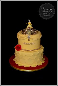 Princess Belle Cake! | Made for my niece's 4th Birthday! | Yummy Treats by Yane | Flickr