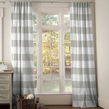 horizontal striped curtains - Google Search