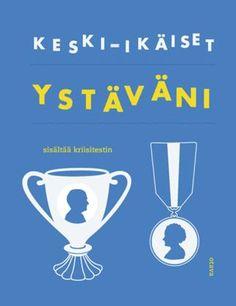 Keski-ikäiset ystäväni - Mikko Aarne, Mia Kankimäki - #kirja – Designer: Päivi Puustinen Wine Glass, Tableware, Blue, Dinnerware, Tablewares, Dishes, Place Settings, Wine Bottles