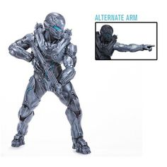 "SPARTAN LOCKE 10"" Deluxe Halo 5 Guardians Action Figure McFarlane"