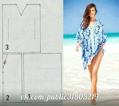 Faire une robe de plage - Elkalin.Couture,broderie main machine
