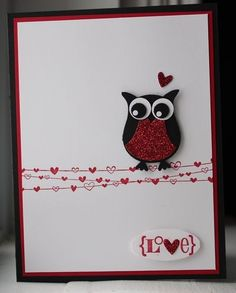 owl punch love card by renae7500