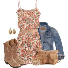 cowboy boots with dresses >