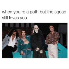 "17 Funny Goth Memes For All Your Morbid Needs - Funny memes that ""GET IT"" and want you to too. Get the latest funniest memes and keep up what is going on in the meme-o-sphere. Goth Humor, Goth Memes, Dankest Memes, Funny Memes, Funniest Memes, Funny Tweets, Intp, Stupid Funny, Hilarious"