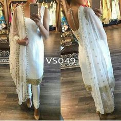 Dear customer THIS IS CUSTOMIZE DESIGNER BRIDAL OUTFITS* Our superhit design Back in stock on demand Code VS049✅ Pure satin silk crepe (soft) unstitch top 2.5 meter with border both front and back Bottom - 3 meter fabric pure Banglori silk Dupatta - pure nett with Pearl border 2.25 meter Rate - Best selling price for single & multiple Call & whatup +91-9413880140 And see more collection of ladies suit,saree, kurti,lengha and other collections of ladies on my Face
