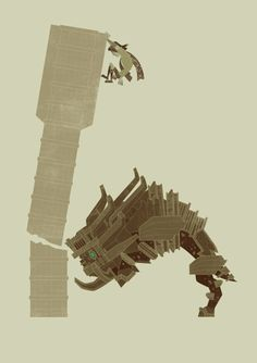 Shadow of the Colossus by James Gilleard
