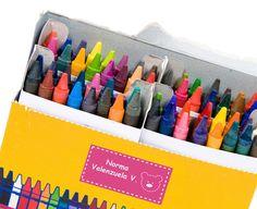 ¿Ya conoces Márkalo? Etiquetas personalizadas, etiquetas multiusos y etiquetas para marcar útiles como cuadernos, lápices, colores, mochilas, toppers, etc. #EtiquetasMultiusos #EtiquetaPersonalizable