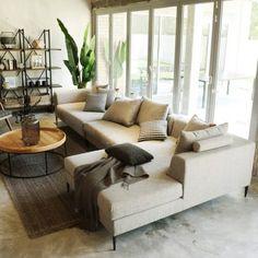 Sofas - ruma 3 Seater Sofa, Sectional Sofa, Sofas, Living Furniture, Home Furniture, Target Living Room, Pebble Grey, Vintage Sofa, Modular Sofa