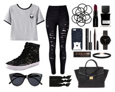 """Everyday // Aliens"" by jelly-bean202 ❤ liked on Polyvore featuring Chicnova Fashion, Kate Spade, Monki, Rebecca Minkoff, Forever 21, Emi-Jay, Le Specs, Chanel, Marc Jacobs and Smashbox"