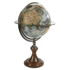 For the person that enjoys the finer things in life we recommend the Paris 1745 Globe.  The Paris is a true replica of ancient art in its purest form, paying tribute to the beauty and prestige of old world exploration this is the perfect globe for anyone with a deep appreciation of world history. www.ultimateglobes.com
