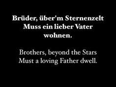 An Die Freude (Ode To Joy) W/ Lyrics