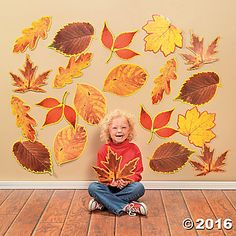 Jumbo Fall Leaves Cutouts
