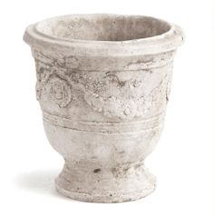 This Richard Taylor Anduze Pot will give a classic and sophisticated look to your garden. (size: 4.75x4.75x5)