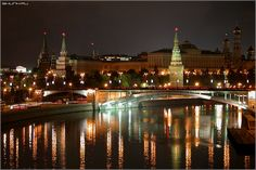 Moscow, Russia.  Sent a postcard July, 2013 to Anton & Tanya - this is their hometown.