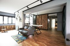 This industrial HDB flat is edgy yet cosy | Home & Decor Singapore
