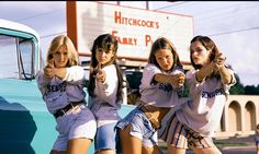 Jean short shorts - Especially third from the left. Dazed and Confused.