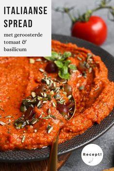 Tapenade, Vegetarian Recipes, Cooking Recipes, Healthy Recipes, Italian Antipasto, Recipe For Mom, Diy Food, Italian Recipes, Food Processor Recipes
