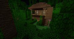 Minecraft Jungle Hut by Cosmic155 on deviantART