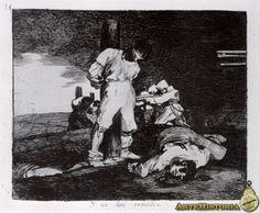 Desastre nº 15 (Y no hay remedio), de Goya