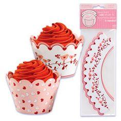 Cupcake Wrap- Valentine - BC-WRAP400