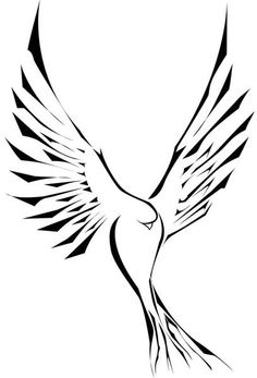 Dove tattoo design: add a crown and more detail and place it on my lower back baby!! <3