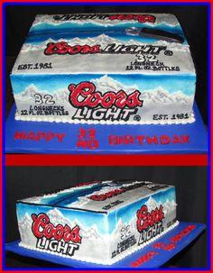 Coors Light Cake