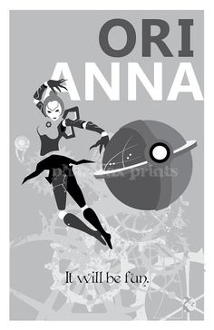 Orianna League of Legends Print by pharafax on Etsy, $16.00